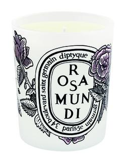 Ароматизированная свеча diptyque Rosa Mundi, 190 g