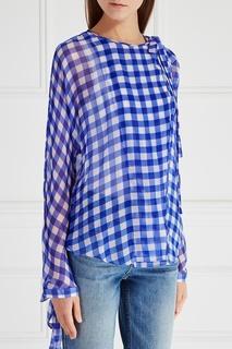 Шелковая блузка Diane von Furstenberg