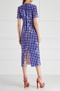 Платье с пайетками Diane von Furstenberg