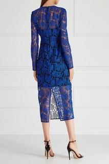 Шелковое платье Diane von Furstenberg