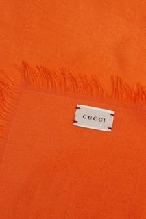 Платок из шерсти и шелка Gucci Children