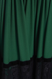 Комбинированное платье Elie Saab