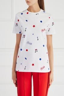 Хлопковая футболка Etre Cecile