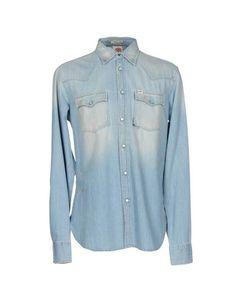Джинсовая рубашка Franklin & Marshall