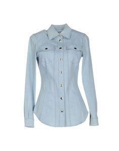 Джинсовая рубашка Moschino Couture