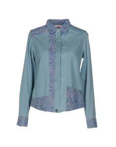 Джинсовая рубашка Blugirl Folies