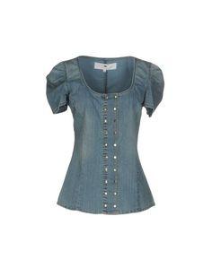 Джинсовая рубашка Elisabetta Franchi Jeans