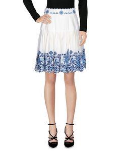 Юбка до колена Dolce & Gabbana
