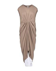 Платье длиной 3/4 Rick Owens Lilies
