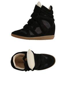 Высокие кеды и кроссовки Isabel Marant