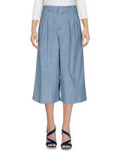 Джинсовые брюки-капри Alice + Olivia