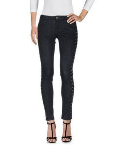 Джинсовые брюки-капри Intropia