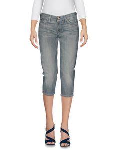 Джинсовые брюки-капри 7 For All Mankind