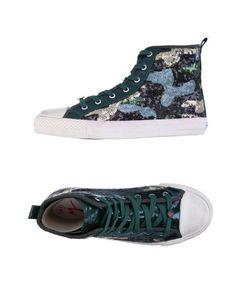 Высокие кеды и кроссовки Manila Grace Denim