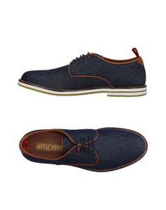 Обувь на шнурках Moschino