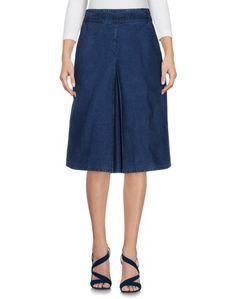 Джинсовая юбка Folk