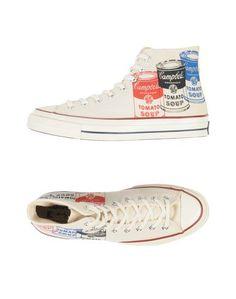 Высокие кеды и кроссовки Andy Warhol x Converse