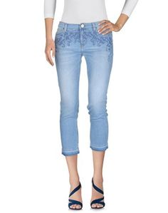 Джинсовые брюки-капри Pinko