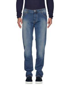 Джинсовые брюки E. Marinella
