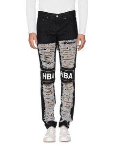Джинсовые брюки HBA Hood BY AIR