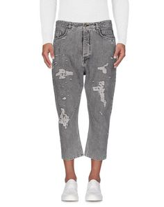 Джинсовые брюки-капри Overcome