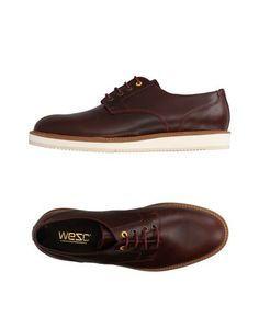 Обувь на шнурках Wesc