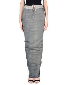 Джинсовая юбка Drkshdw BY Rick Owens