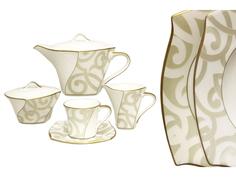 """Чайный сервиз из 17 предметов на 6 персон """"Грегори"""" Narumi"""