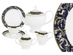 """Чайный сервиз 21 предмет на 6 персон """"Олимпия"""" Emerald"""