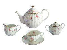 """Чайный сервиз из 15 предметов на 6 персон """"Флёр"""" Colombo"""