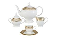 """Чайный сервиз 21 предмет на 6 персон """"Шарлотта"""" Emerald"""