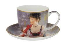 "Чашка с блюдцем ""За чашкой кофе"" Carmani"