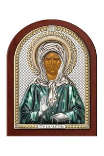 Икона Матрона 7,5х11 см Аргента