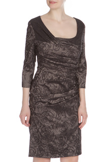 Приталенное платье со складками Vera Mont