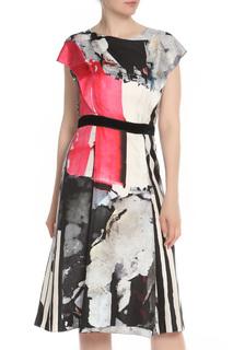 Полуприлегающее платье с застежкой молнией Carolina Herrera