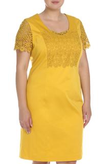 Платье с кружевными вставками Marina Rinaldi
