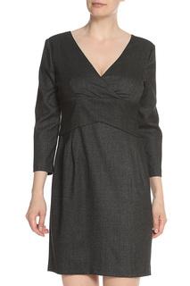 Платье с V образным вырезом Armani Jeans
