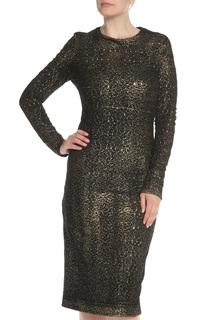 Платье с длинным рукавом Bottega Veneta