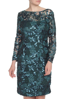 Платье с V образным вырезом на спине E.LEVY