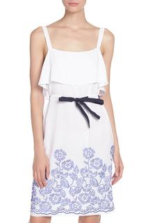 Изящное платье прямого кроя E.LEVY