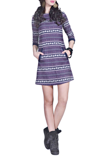 Платье А-силуэта с карманами FRANCESCA LUCINI