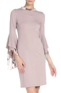Платье-футляр с объёмными рукавами Adzhedo