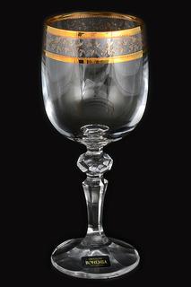 Набор бокалов для вина 220 мл Crystalite Bohemia