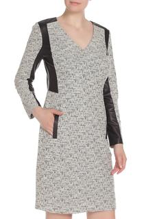 Платье-футляр с V-образным вырезом E.LEVY