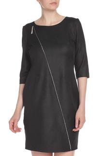 Платье с декоративной молнией E.LEVY