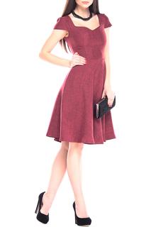 Легкое льняное платье расклешенногоо силуэта Dioni