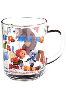 Кружка Маша и медведь-школьная Маша и Медведь