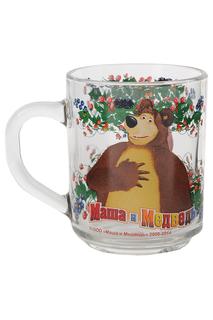 "Кружка ""Маша и медведь-малина"" Маша и Медведь"