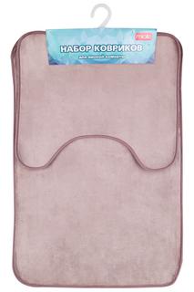 Набор ковриков в ванную, 2 шт Miolla