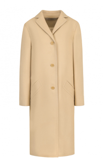 Шерстяное пальто свободного кроя Nina Ricci